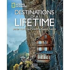 Destinations of a Lifetime - National Geographic - Brand New