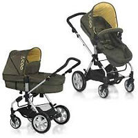 European Stroller -bassinet-car seat. I'COO.German-engineering..