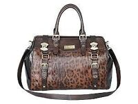 River Island Leopard Print - Large - Doctors Bag (NEAR-PERFECT CONDITION)(RARELY USED)