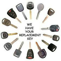 Lost Car Key Replacement, Key Fobs, Key Copy, Ignition Repair