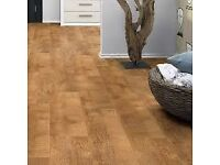 vinyl flooring wood effect brand new may deliver 4m x 4m NEW