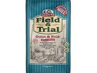 Skinners Gluten Free Duck & Rice. Hypollergenic.