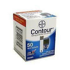 Bayer Contour Blood Glucose Test Strips Ebay