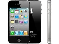 iPhone 4s 16Gb black on O2