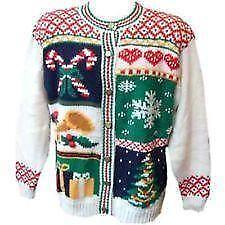 mens ugly christmas sweater xl