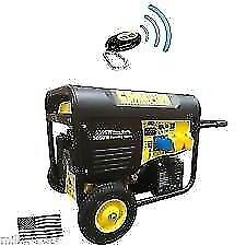 NEW CHAMPION CPG6500 5.5kw GENERATORS, ELECTRIC START, REMOTE START & RECOIL, 13HP , BALLYNAHINCH