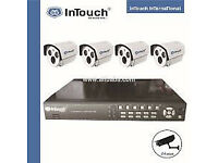 cctv security kit system tvl camera