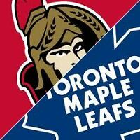 Toronto Maple Leafs vs. Ottawa Senators PLATINUM Tickets Sect109