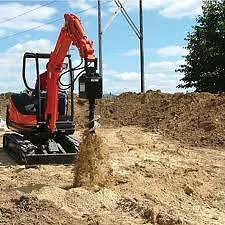 Excavation, soil /concrete removal, Auger. excavator hire Sydney City Inner Sydney Preview