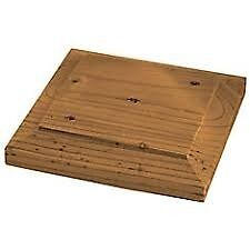 LAWMAC FENCING Manufactures Wooden Post Top / 4 x 4 Fence Post Cap Decking Green or Brown Leicester