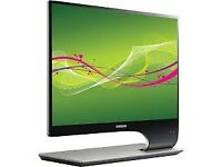 "Samsung 27"" full HD led monitor with 3D capability 120hz monitor worth 450"