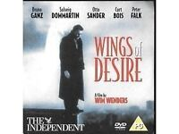 Wings Of Desire DVD Promo The Independent Bruno Ganz Otto Sander