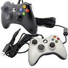 Black and White Xbox 360 Controller