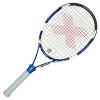 PACIFIC X-FORCE COMP TENNIS RACQUET , 4 1/2, STRUNG , BRAND NEW