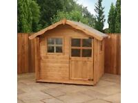Wanted: small wooden playhouse