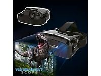 Scope virtual reality VR glasses for smartphones