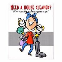 Annual and monthly house cleaning