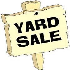 Yard sale SATURDAY 27th AND SUNDAY 28th of May! (8 am to 8 pm)