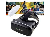 shinecon vr gear 3d glasses £35 each 2 for £60 play games you will get bluetooth games remote