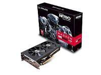 Sapphire AMD RX480 Nitro+ 8 GB GDDR5 Memory
