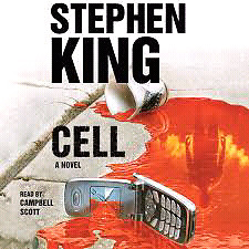 """Stephen King Audio Book of the novel """" Cell"""" on CD sealed in box"""