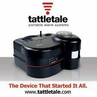 TATTLETALE PORTABLE WIRELESS COMMERCIAL ALARM / 2000' + Range