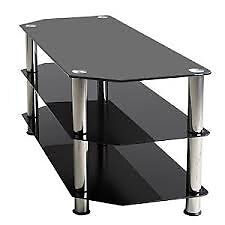 *** RE-ADVERTISED DUE TO TIMEWASTERS *** IMMACULATE 3-TIER TOUGHENED GLASS TV STAND FOR SALE !!!