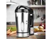Your kitchen stainless steel electric soup maker...