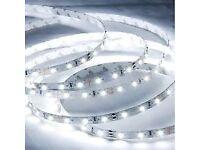Brand New 12V 5M LED Strip Tape Light SMD3528 x 300 LEDs Flexible Warm White Under Cabinet