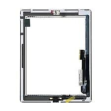 Ipad 4 touch screen digitizer glass with free fitting with no extra cost while you wait