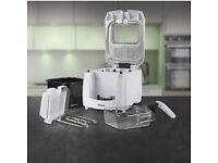 Pifco Deep White Fryer 3L Timer Adjust Thermostat Removable Lid Carbon Filter (brand new)