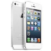 iphone5 32Gb white locked to Fido