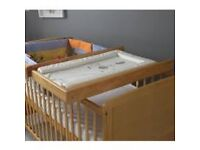 Changing table for cot