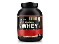 um Nutrition Gold Standard 100% Whey Protein Powder - 2.27 kg, Extreme Milk Chocolate.
