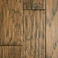 "Extra Wide 6 1/2"" Handscraped Engineered HICKORY SAVE 70%"