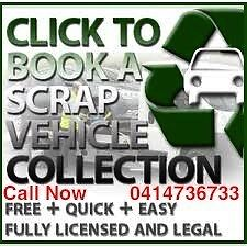 CASH FOR UNWANTED SCRAP CAR UTE VAN 4X4 GIVE ME CALL FOR TOPS $$$ Fairfield Fairfield Area Preview
