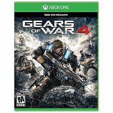 Gears of War 4 Brand New Sealed (xbox one)
