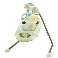 Fisher-Price Cradle and Swing, My Little Lamb