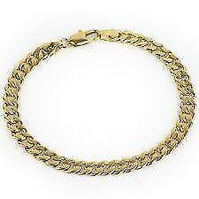 Mens 14k Gold Bracelet