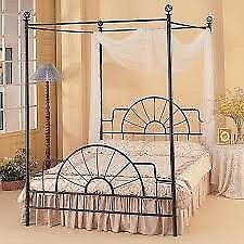 Four poster princess double bed