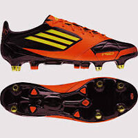 ADIDAS F50 ADIZERO X TRX SG Leather Black Soccer size 11us