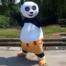 Kung Fu Panda costume mascot for rent or hire Fairfield Fairfield Area Preview