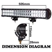 Epistar led 20 inch light bar... 52,42 straight available also . Crestmead Logan Area Preview