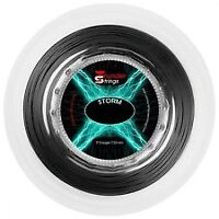 CHALLENGER STORM BLACK 1.25 TENNIS STRING REEL .200 M , NEW