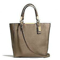 Coach Madison Mini North/South Tote in Saffiano Leather for sale