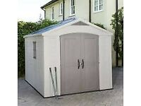 Keter 8 x 8 Factor plastic shed