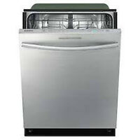 Lave-vaisselle encastrable Stainless Samsung DW80F800UWS