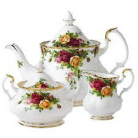 Penn's Antiques Buying Royal Albert Dinner Sets & Serving Pieces
