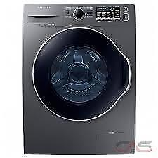 SAMSUNG 24 INCH FRONT LOAD WASHER 2.6 CU.FT. Stackable  ( WW22K6800 AX ) BRAND NEW. $ 699.00 NO TAX.