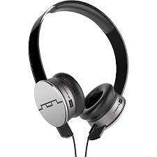 SOL REPUBLIC Headphones Tracks HD V10 On Ear Grey New for Iphone Prestons Liverpool Area Preview